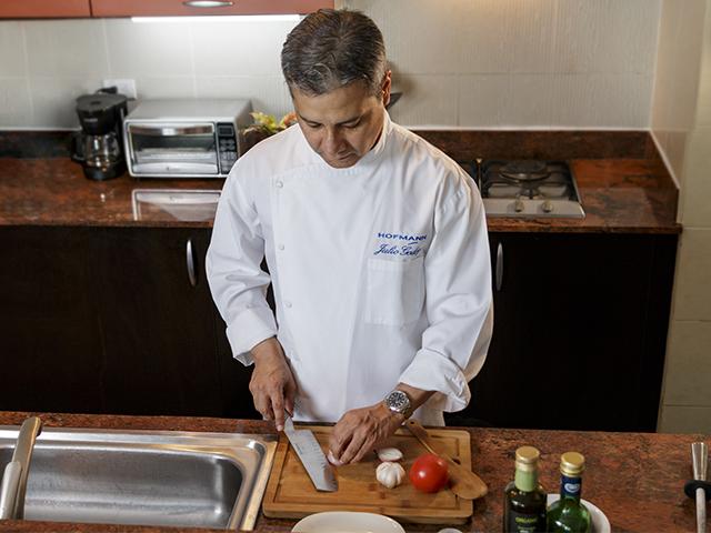 Julio Godoy Byerly: Ginecólogo y Chef